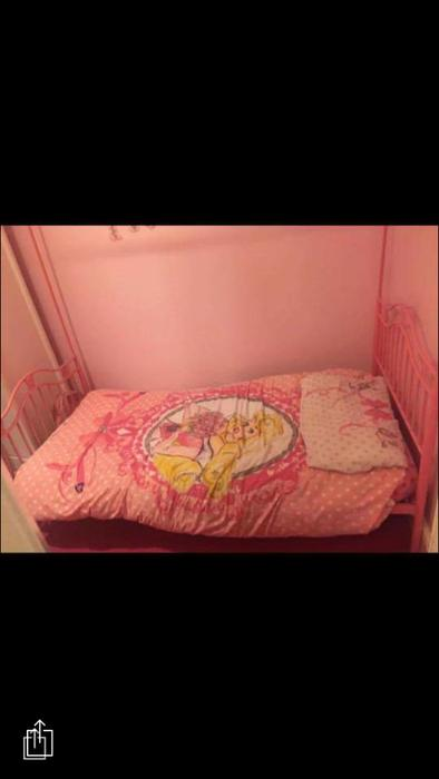 Girls Pink 4 Poster Bed Dudley Dudley