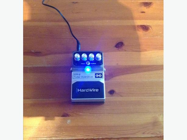 Digitech hardwire overdrive pedal for guitar.