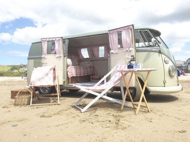 Tullulah 1966 Volkswagen Split Screen Camper Van.