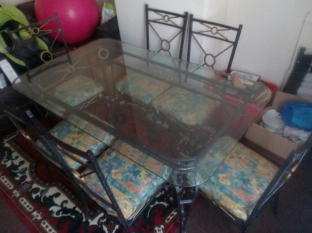 Table chairs wolverhampton wolverhampton for 5ft dining room table