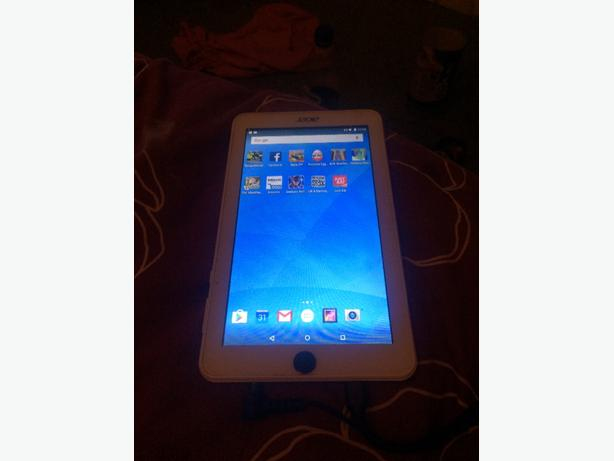 acer iconia one 7in tablet