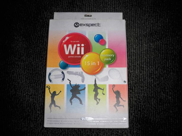 Exspect wii 15 in 1 accessory pack new