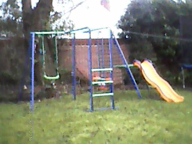 KIDS SWING/SLIDE/SeaSaw £60 07486 097 508