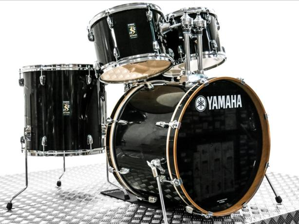 Yamaha Rydeen drums -black-full kit- brand new