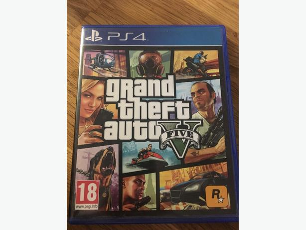 gta 5 for ps4 unmarked disc