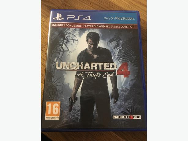 uncharted4 a thiefs end for ps4