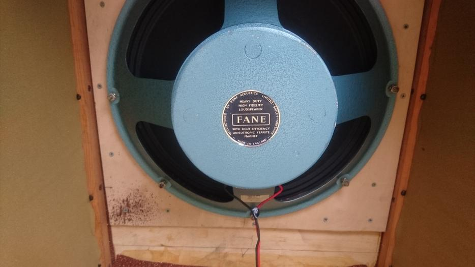 Vintage Fane 18inch Anisotropic Magnetic Bass Guitar