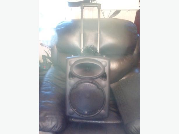 karaoke pa system portable