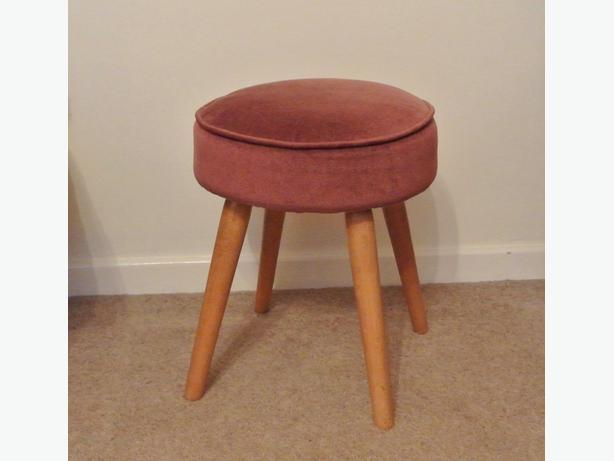 Vintage 1950's 60's very retro foot stool Stoolette Product