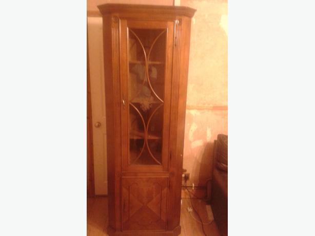 italian corner cabinet