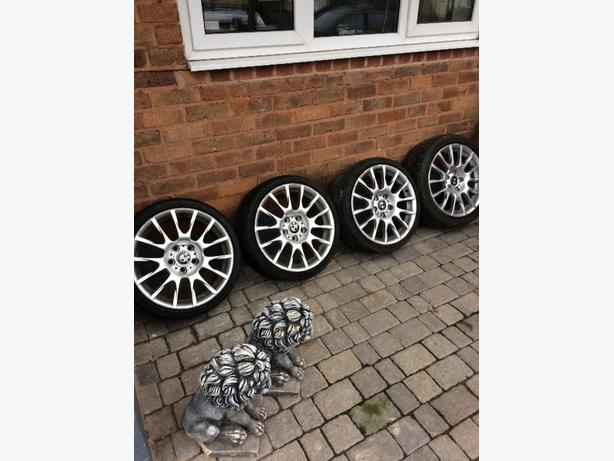 bmw m sport alloys