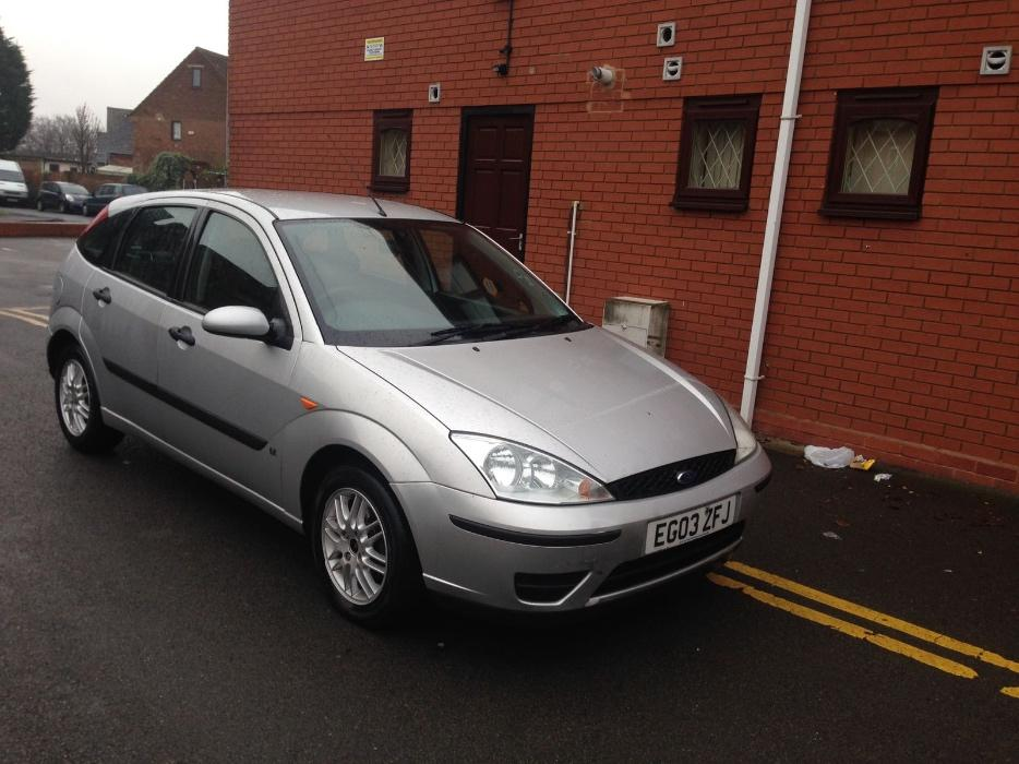 ford focus 2003 03 plate 1 8 tdci zetec silver 12 months. Black Bedroom Furniture Sets. Home Design Ideas