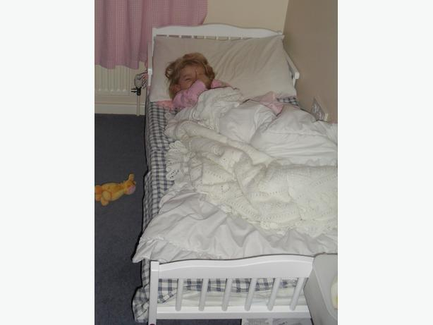 White Toddler Bed With Mattress Brierley Hill Dudley