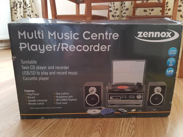 Zennox Multi Music Centre Player/Recorder