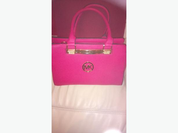 New Pink Michael Kors handbag