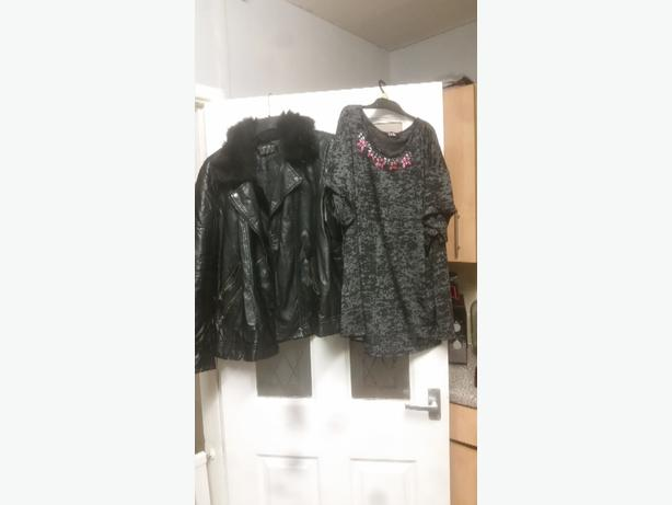 coat size 18 top size 20