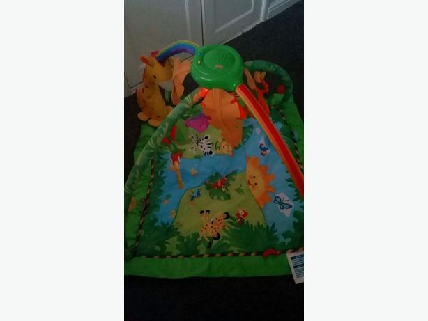 rainforest play mat
