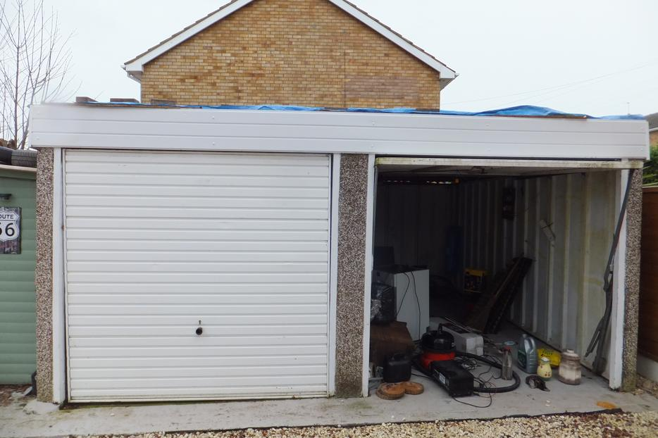 Concrete Sectional Double Garage Buyer Dismantle