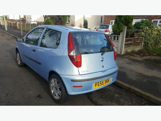 Fiat punto face-lift cheap llittle run about