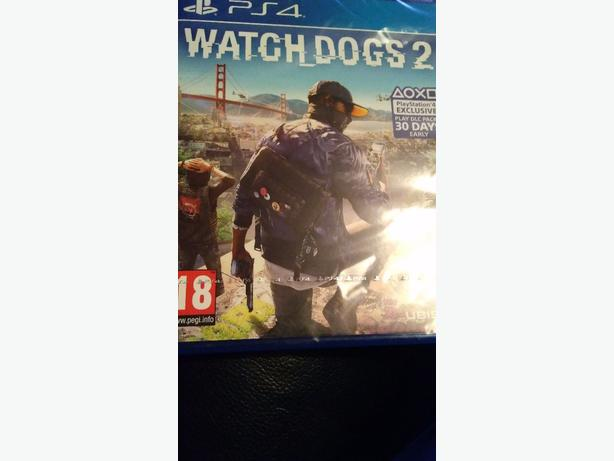 Ps4 watch dogs 2 new sealed