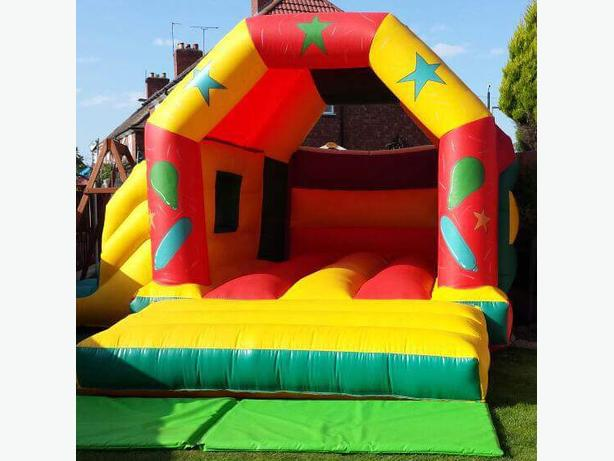bouncy castle combi