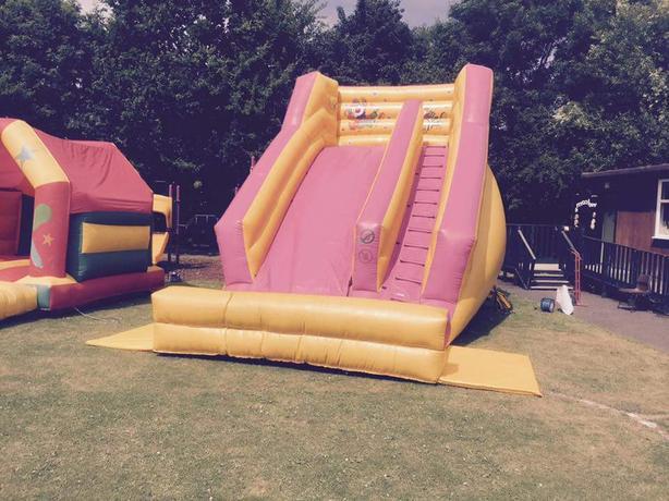 bouncy castle slide 10ft platform