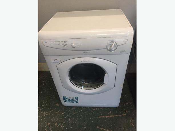 hotpoint 6kg vented dryer free deilvery