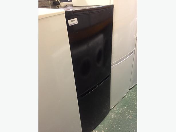 black fridgefreezer free deilvery