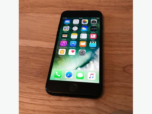 IPhone 7 32gb Matte Black spares & repairs (Read description)