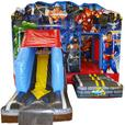 Dexluxe Superhero Bouncy Castle & Slide