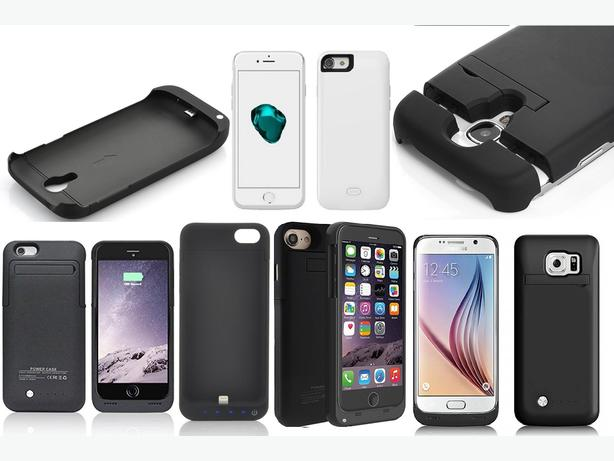 Battary Cases For iPhone 5 6 7 Galaxy S6 S7 Edge On Mad Prices