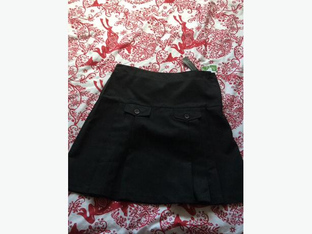 Brand new black school skirts