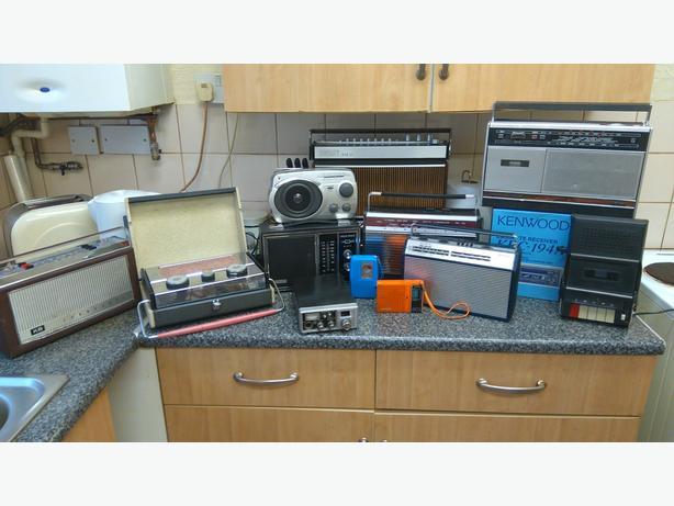 Vintage transistor radios 1960s 70s