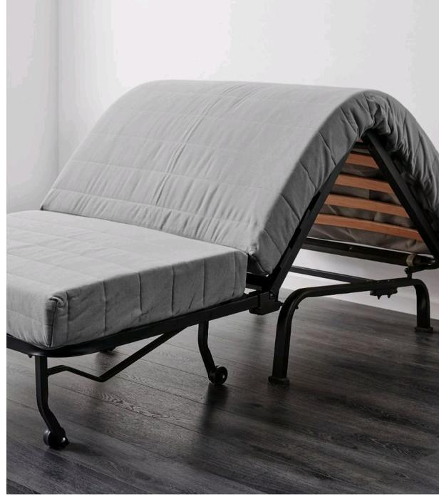 fold up bed chair with cover wednesbury sandwell. Black Bedroom Furniture Sets. Home Design Ideas