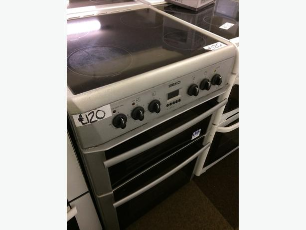🇬🇧BEKO 60CM FAN ASSISTED DOUBLE OVEN ELECTRIC COOKER🇬🇧