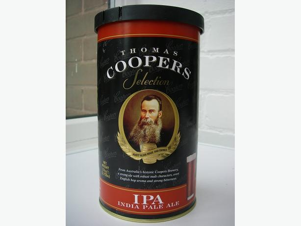 Coopers Selection IPA 40 pint homebrew Kit