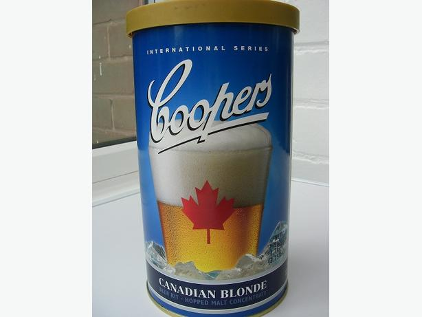 Coopers Canadian Blond 40 pint kit