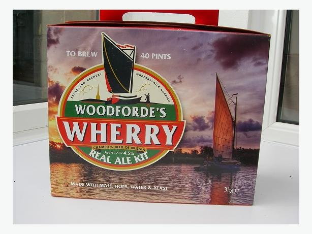 Woodforde`s Wherry 40 pint kit