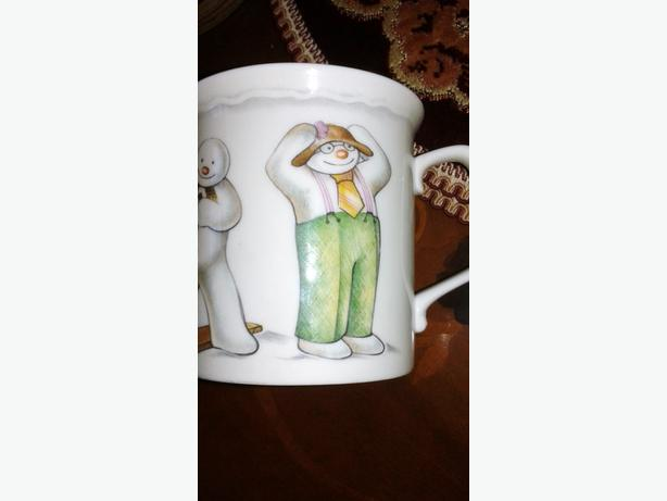 royal doulton snowman mug