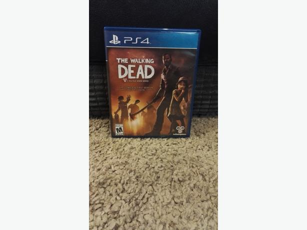 the walking dead game first season ps4 wolverhampton dudley. Black Bedroom Furniture Sets. Home Design Ideas