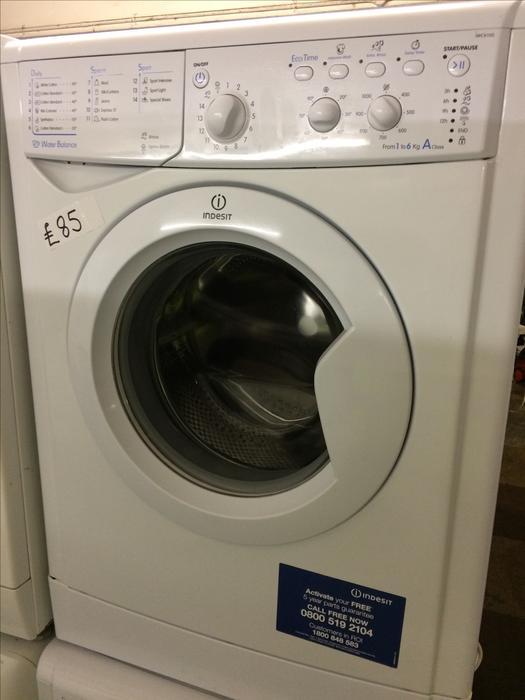 Indesit Washing machine Widl102 Manual
