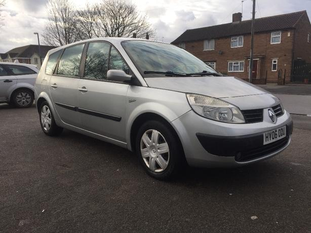 2006 renault grand scenic 7 seater west bromwich wolverhampton. Black Bedroom Furniture Sets. Home Design Ideas