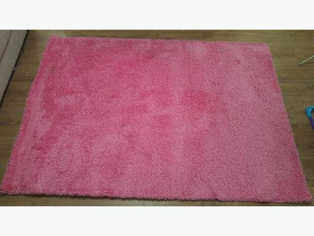 Large pink rug dudley wolverhampton for Ikea pink rug