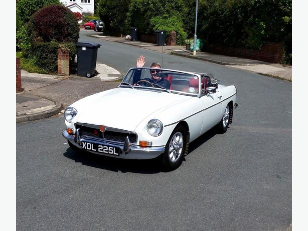 1972 MGB Roadster good condition