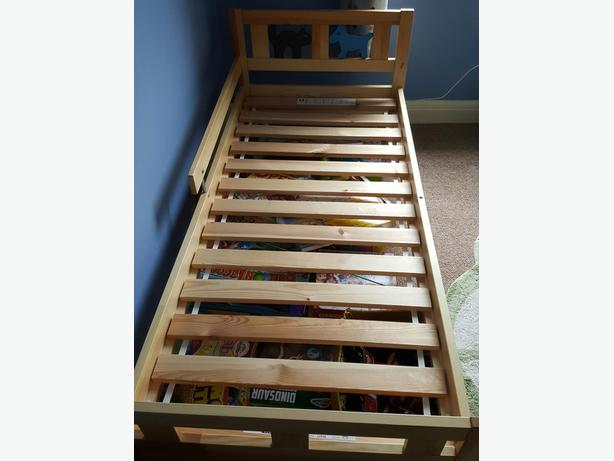 Ikea Toddler Wooden Bed With Mattress Wednesfield Dudley
