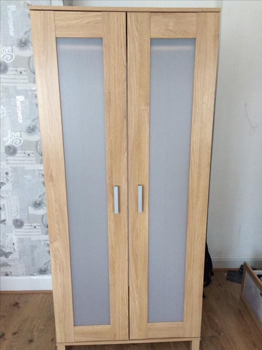 wardrobe for sale from ikea tipton walsall. Black Bedroom Furniture Sets. Home Design Ideas