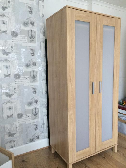 wardrobe for sale from ikea tipton sandwell mobile. Black Bedroom Furniture Sets. Home Design Ideas