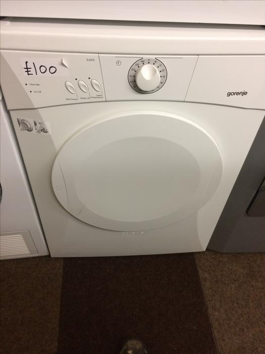gorenje dryer how to use