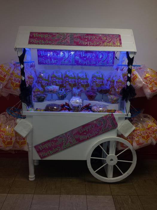 Candy Cart Hire Wednesfield Dudley
