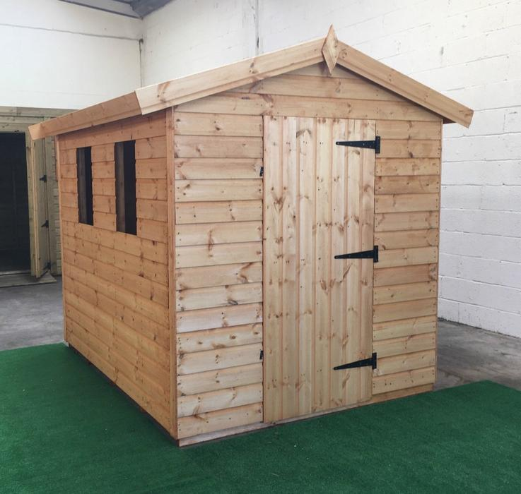 Garden sheds highist quality timber used dudley sandwell for Quality garden sheds